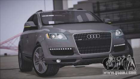 Audi Q7 2008 for GTA San Andreas inner view