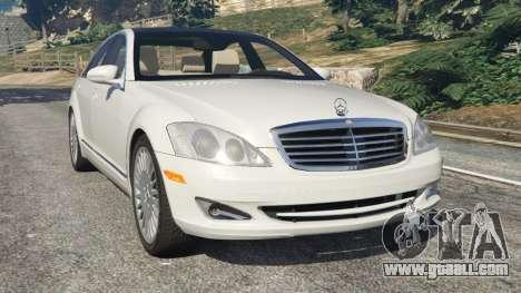 Mercedes-Benz S550 W221 v0.5 [Alpha] for GTA 5