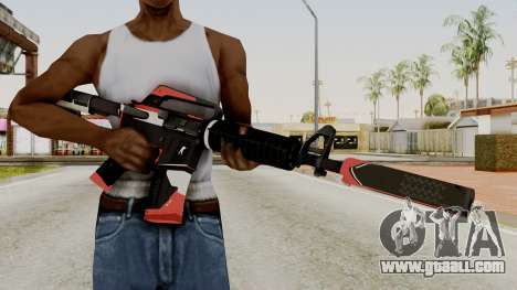 M4A1-S Cyrex for GTA San Andreas third screenshot