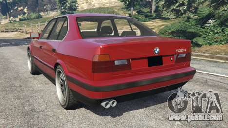 GTA 5 BMW 535i (E34) rear left side view