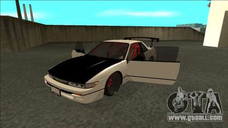 Nissan Silvia S13 Drift for GTA San Andreas back view
