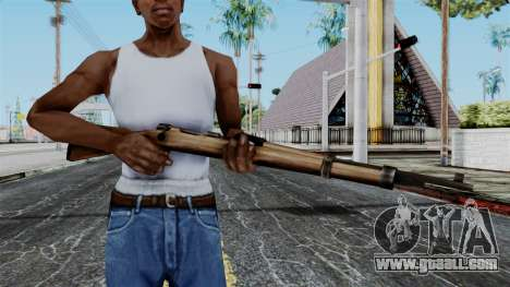 Kar98k from Battlefield 1942 for GTA San Andreas third screenshot