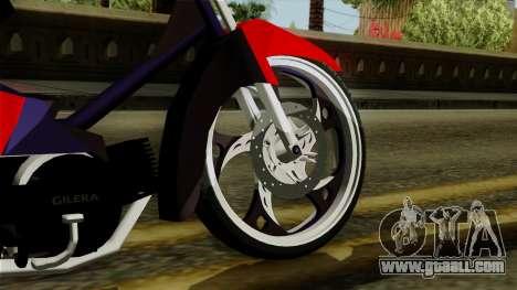 Gilera Smash for GTA San Andreas back left view