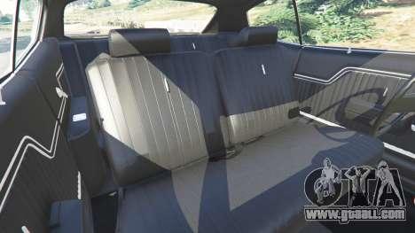 GTA 5 Chevrolet Chevelle SS 1970 v1.0 steering wheel