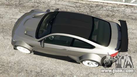 GTA 5 BMW M4 F82 WideBody back view