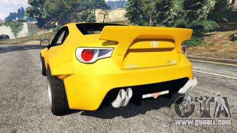 Toyota GT-86 Rocket Bunny for GTA 5