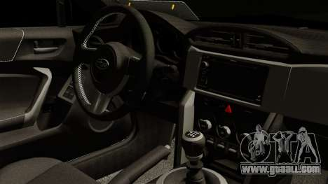 Subaru BRZ 2010 Rocket Bunny v1 for GTA San Andreas right view