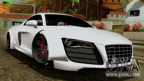 Audi R8 v1.0 Edition Liberty Walk for GTA San Andreas