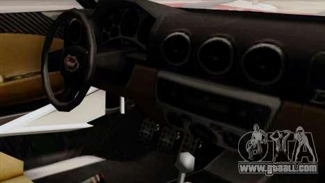 Vapid Bullet GT-GT3 for GTA San Andreas right view