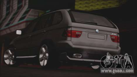 BMW X5 E53 for GTA San Andreas right view