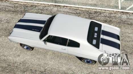 GTA 5 Chevrolet Chevelle SS 1970 v1.0 back view