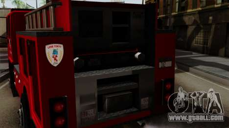 DFT-30 Tokyo Fire Department Pumper for GTA San Andreas right view