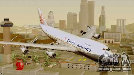 Boeing 747-200 China Airline for GTA San Andreas