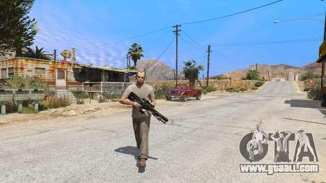 GTA 5 M2014 Gauss Rifle из Crysis 2