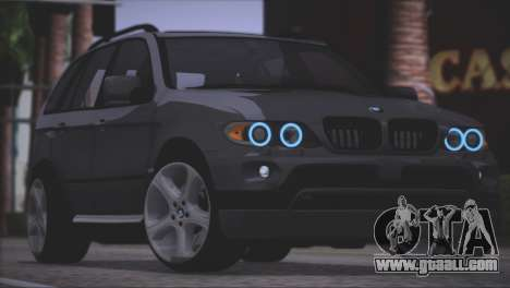 BMW X5 E53 for GTA San Andreas side view