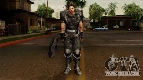Chris Heavy Metal for GTA San Andreas second screenshot