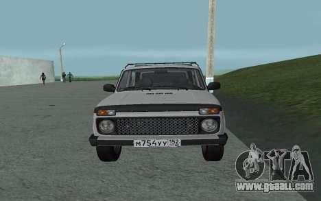 VAZ Niva 21213 for GTA San Andreas right view
