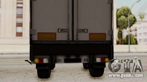 Cooliner Trailer from ETS 2 for GTA San Andreas right view