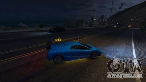 GTA 5 Drift HUD fourth screenshot