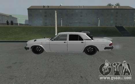 Volga GAZ 3110 for GTA San Andreas left view