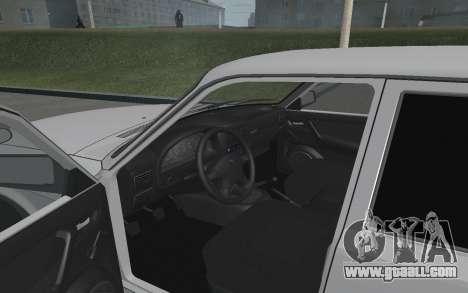Volga GAZ 3110 for GTA San Andreas back view