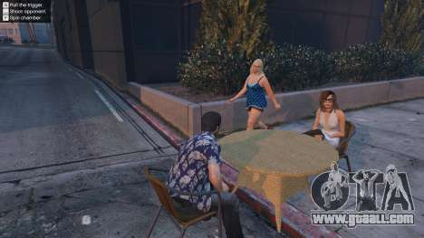 Russian roulette for GTA 5