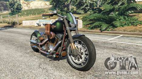 Harley-Davidson Fat Boy Lo Racing Bobber v1.1 for GTA 5