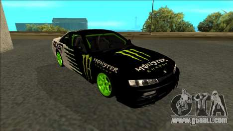 Nissan 200SX Drift Monster Energy Falken for GTA San Andreas side view