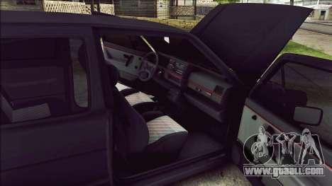 Volkswagen Golf Mk2 Line for GTA San Andreas inner view