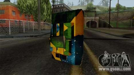 Brasileiro Satchel v2 for GTA San Andreas