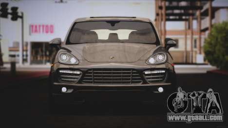 Porsche Cayenne Turbo 2012 for GTA San Andreas side view