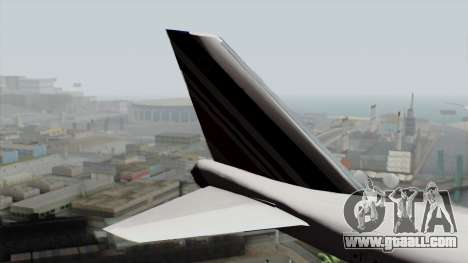 Boeing 747-200 Air France for GTA San Andreas back left view
