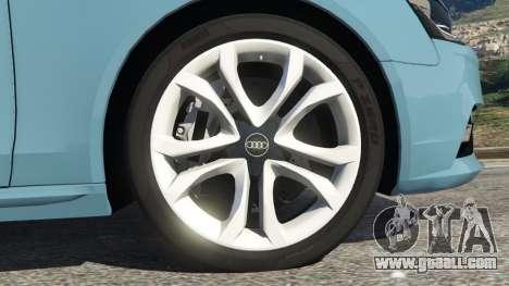 GTA 5 Audi A4 Avant 2013 rear right side view