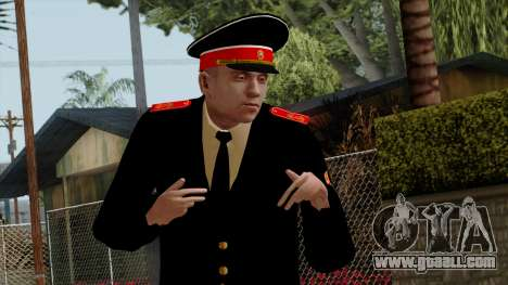 Vice-Sergeant Kazan VCA v2 for GTA San Andreas