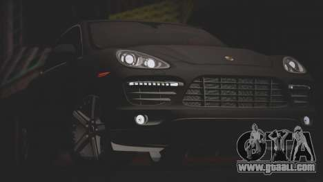 Porsche Cayenne Turbo 2012 for GTA San Andreas interior