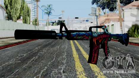 M4A1-S Hyper Beast for GTA San Andreas