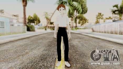 Shinji Ikari (Evangelion) for GTA San Andreas second screenshot