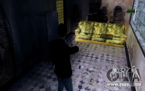 Flashlight for GTA San Andreas third screenshot