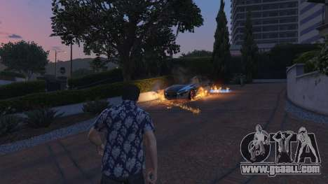 GTA 5 4K Fire Overhaul 2.0 second screenshot