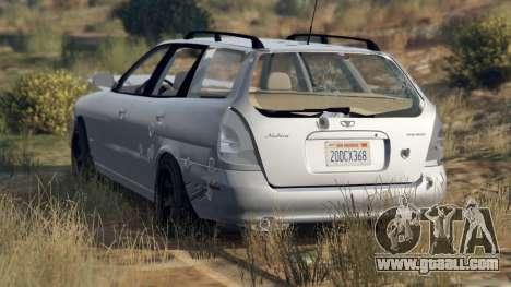 GTA 5 Daewoo Nubira I Wagon US 1999 - FINAL version wheel