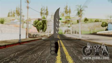 The knife for GTA San Andreas
