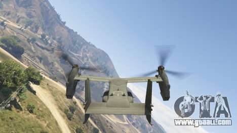 GTA 5 CV-22B Osprey (VTOL) seventh screenshot