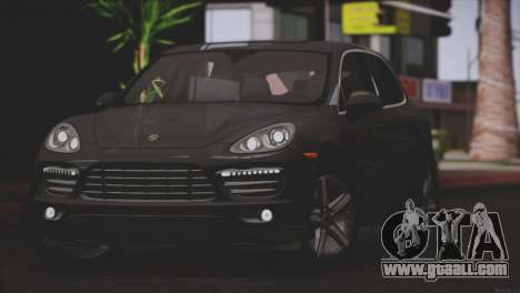 Porsche Cayenne Turbo 2012 for GTA San Andreas inner view