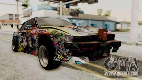 Nissan R13 for GTA San Andreas left view