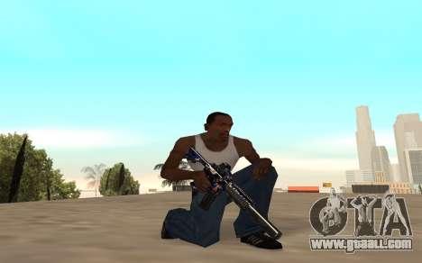 M4 c cub for GTA San Andreas fifth screenshot