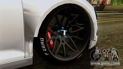 Audi R8 v1.0 Edition Liberty Walk for GTA San Andreas back left view