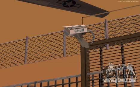 New Military Base v1.0 for GTA San Andreas sixth screenshot