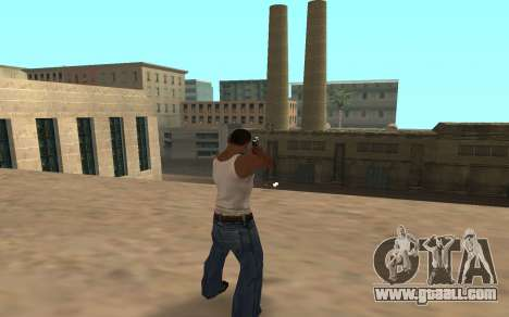 Desert Eagle with a tiger cub for GTA San Andreas second screenshot