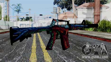 M4A1-S Hyper Beast for GTA San Andreas second screenshot