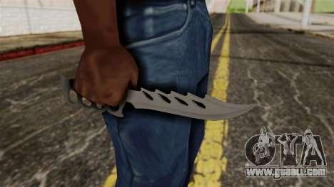 The knife for GTA San Andreas third screenshot